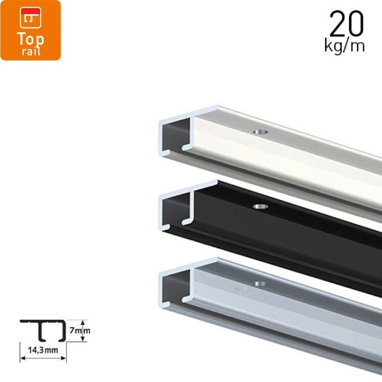 Artiteq Top Rail 20kg(44lbs)/m
