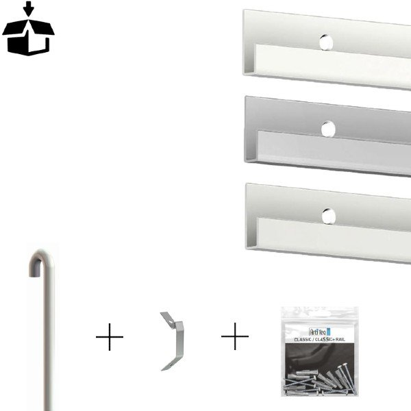 Artiteq all in one Classic Rail Package 20kg