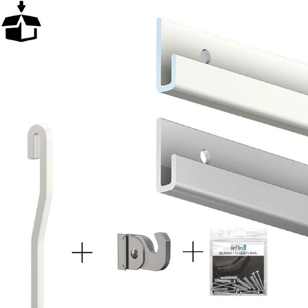 Artiteq all in one Classic Rail Plus Package 100kg