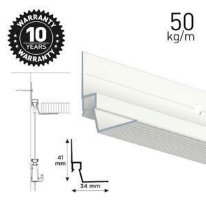 Artiteq Ceiling Strip White 300cm