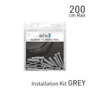 Artiteq Classic Rail Alu 200cm