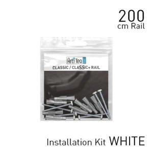 Artiteq Classic Rail white 200cm