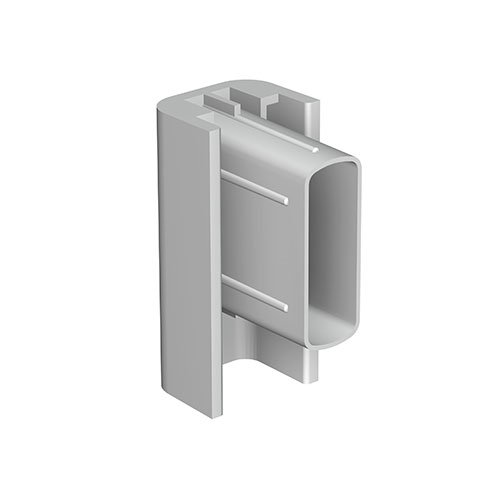 Artiteq Click Rail End Cap Gray