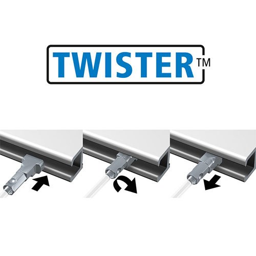 Artiteq Heavy Hook + Twister Set 2mm Perlon