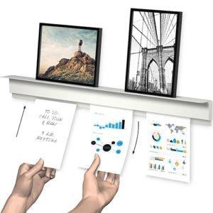 Artiteq Info Rail Plus White/ Alu 100cm - 200cm