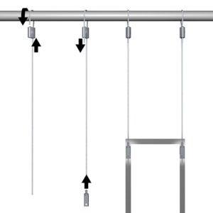 Artiteq Loop Hanger Set for Aluminium Frames