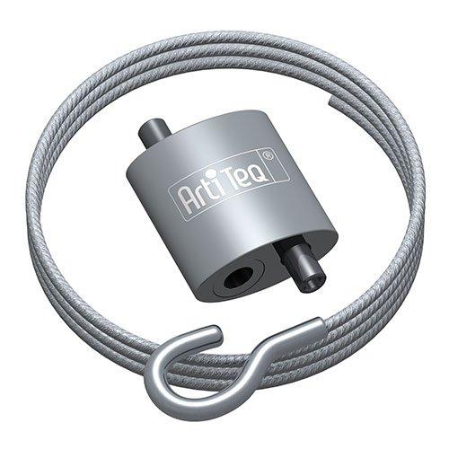 Artiteq Loop Hanger + Steel Cable with Hook Set