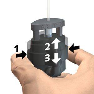 Artiteq Micro Grip Lock 2mm 20kg