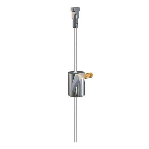 Artiteq Round Hook Brass + Twister Set 2mm Perlon