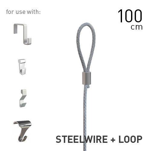 Artiteq Steelwire 2mm + Loop 100cm