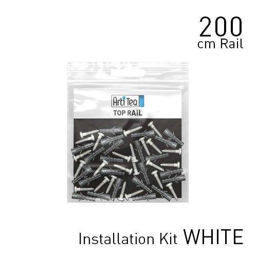 Artiteq Top Rail installation kit white