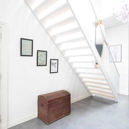 Stair Picture Hanging