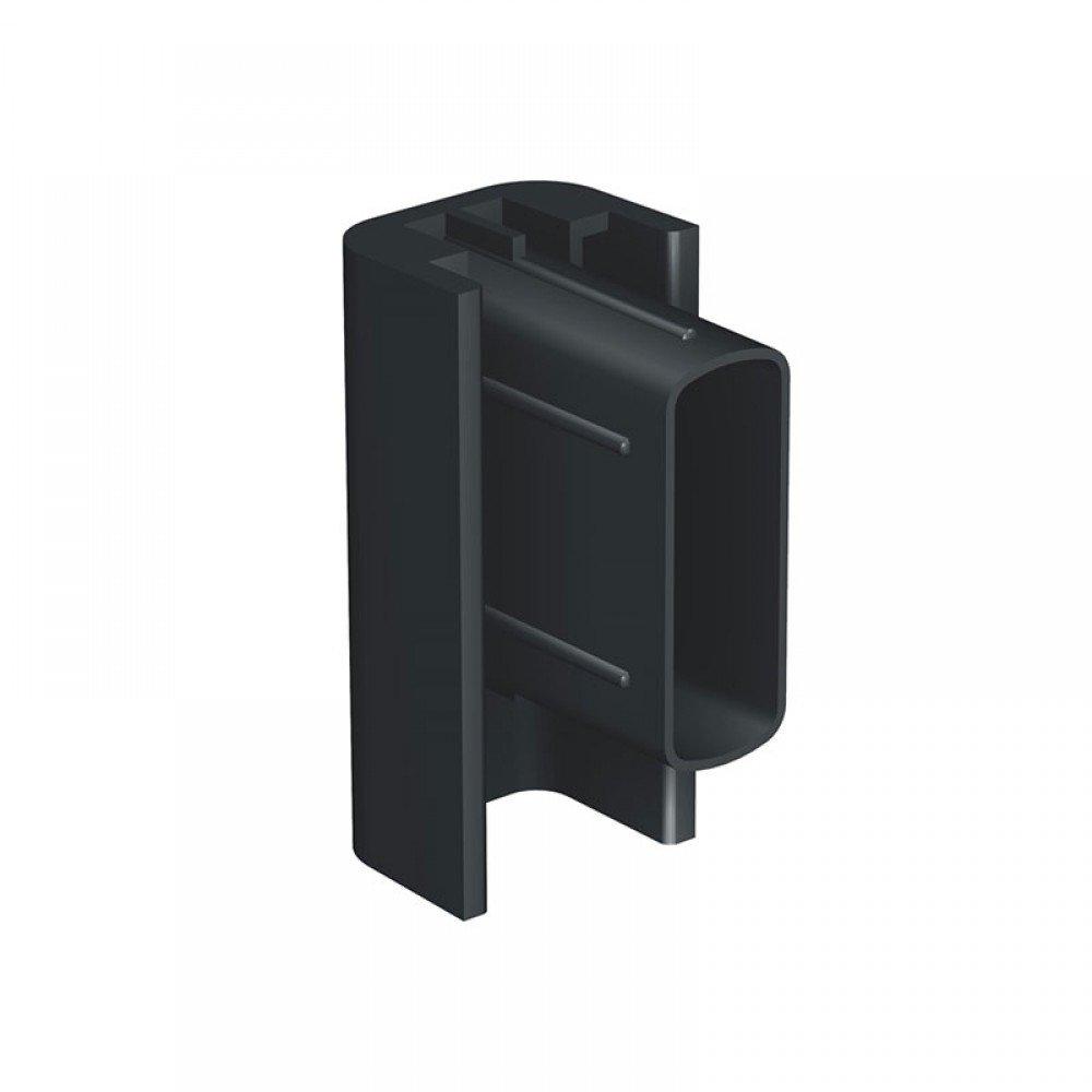 Artiteq click rail black end cap