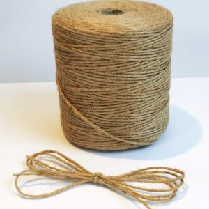 Natural 3ply twine custom length