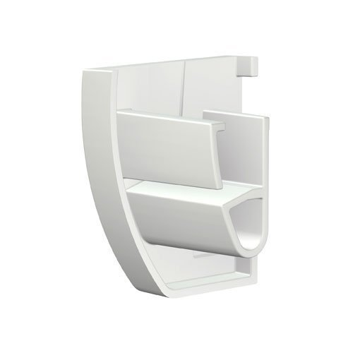 Artiteq Up Rail End Cap Set White