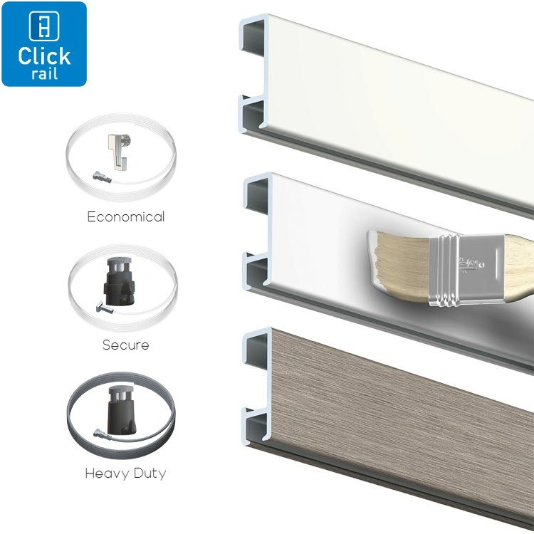 Artiteq All in One Click Rail package 30kg(66lbs)m