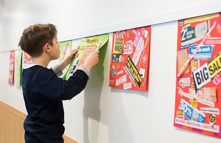 Nursery artwork displaying