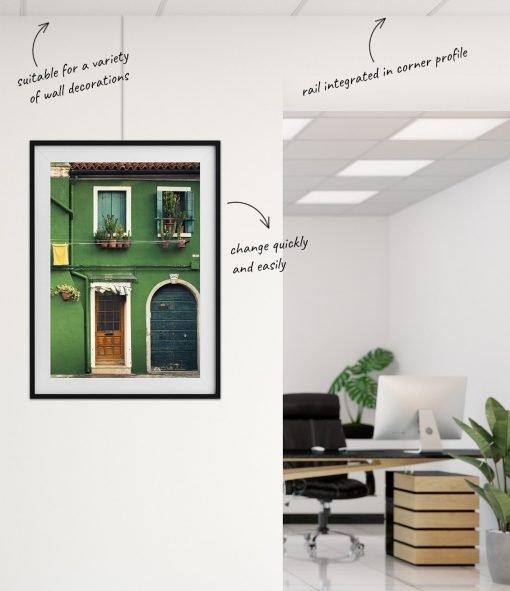 Artiteq Ceiling Strip office installation