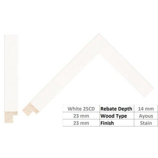 White M7025CD Profile