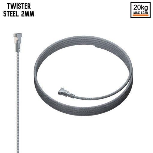 Artiteq Twister 2mm Steel