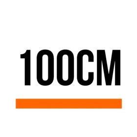 100cm (3 ft, 3.37 in)