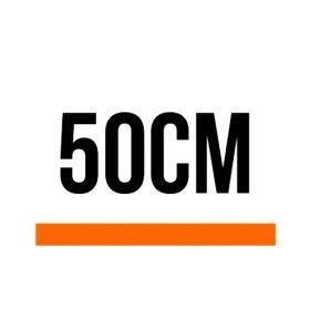 50cm (1 ft, 7.69 in)