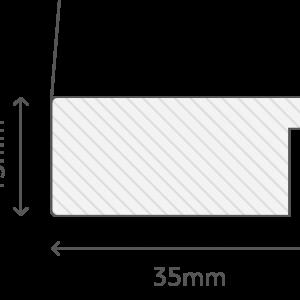 Frame cross section