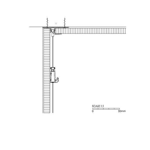 Integrated installation Artiteq Rail